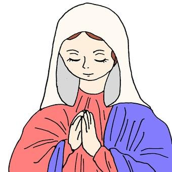 기도 성모 마리아