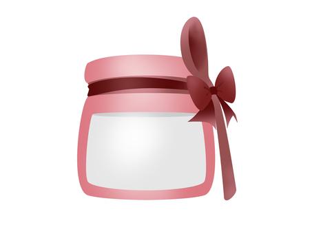 Yogurt ribbon red