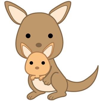 Animal Illustration-Kangaroo