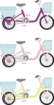 Bicycle 8 three wheels