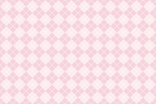 Argyle pattern background pink