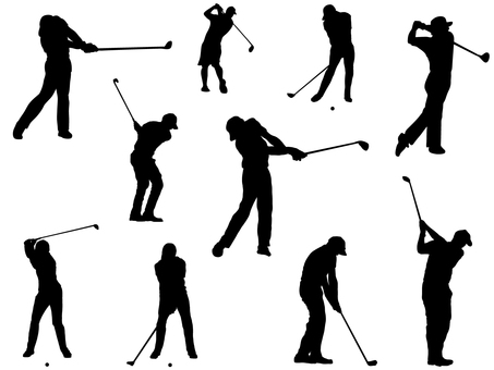 Golf _ Silhouette _ Men