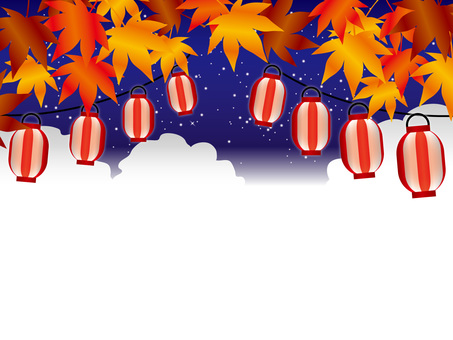 Autumn leaves autumn festival (2) night course
