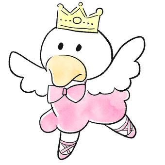Ballerina's Duck