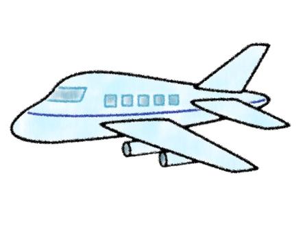 Airplane 3 (hand-drawn style)