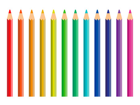 Colored pencil (12 color set)