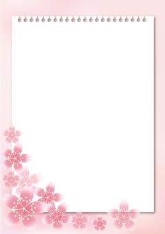 Sakura cherry tree & board 43