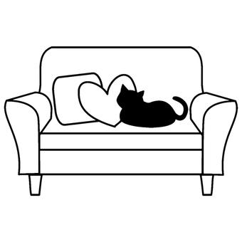 소파 고양이
