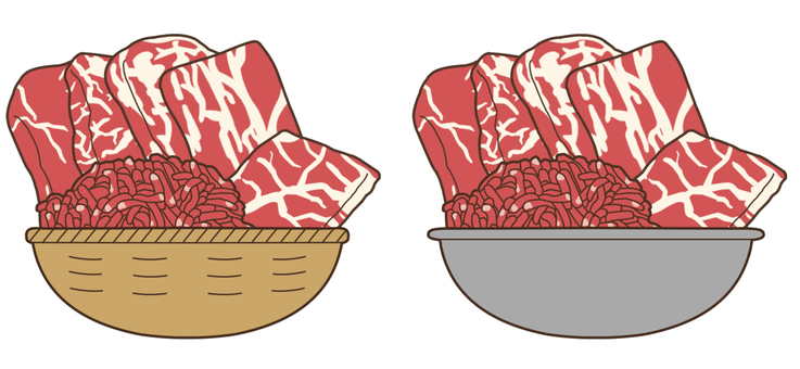 【Stuffing】 Meat (beef)