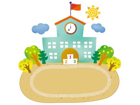 Background_ School Building 1