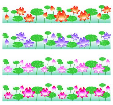 蓮の花ライン