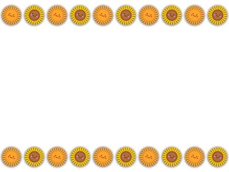 배경 - 태양과 해바라기 01