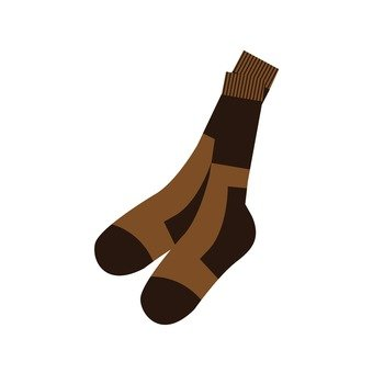 Mountaineering Supplies - Socks (Brown)