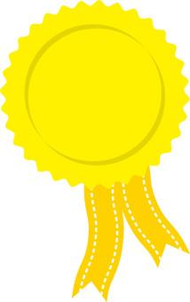 Medal yellow 1