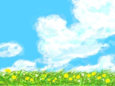 Wild grass series (dandelion)