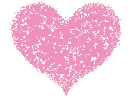Stamp Heart _ Light Pink _ cs