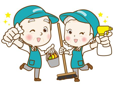シニアバイト(清掃)②