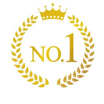 Gold emblem NO 1-2