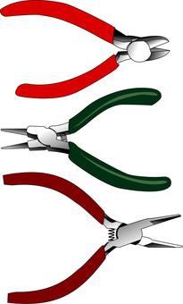 Nipper & Maru & Plain pliers