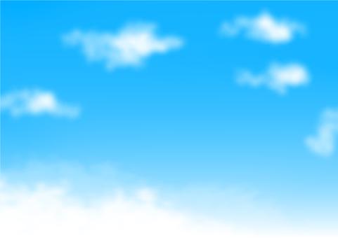 봄의 하늘