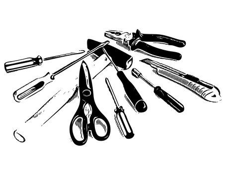 Comic style tool set