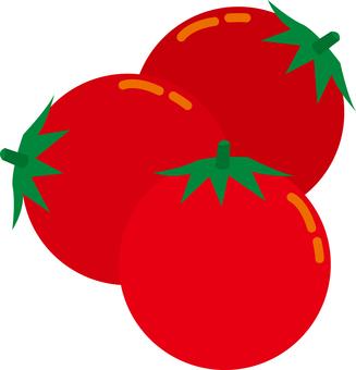 Food series 3 vegetables mini tomatoes