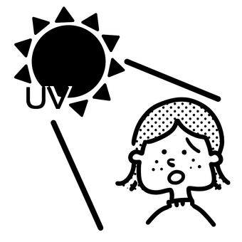 자외선과 소녀