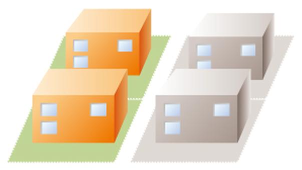 아파트 건물 -2