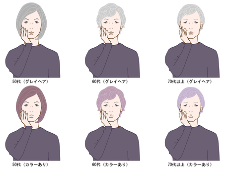 Hair color dyeing simulation