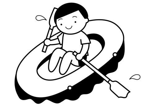 Rubber boat 1c