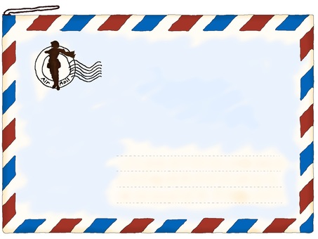 Air mail · Simple 【Stationery system】