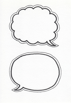 Speech balloon 5
