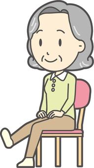高齢者の生活-009-セット