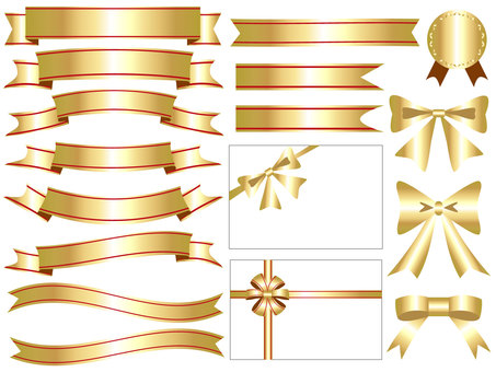 Ribbon's icon set gold