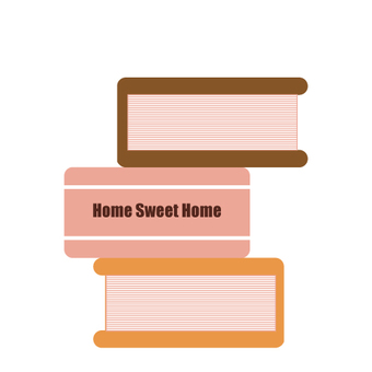 Piled book (profile icon)