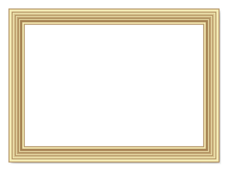 Picture frame - Aluminum style - gold