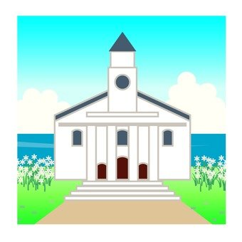 Church by the sea