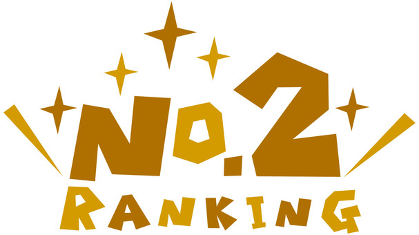 RANKING NO.2 ☆ 2nd place icon ☆