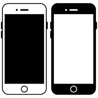 Smartphone-07 (monochrome)