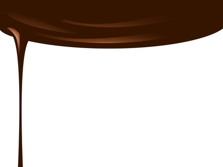Chocolate flowing down