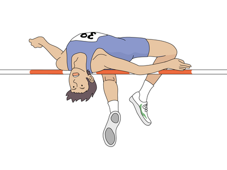 Running High Jump 1