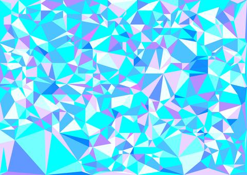 Light blue digital polygon vector background material