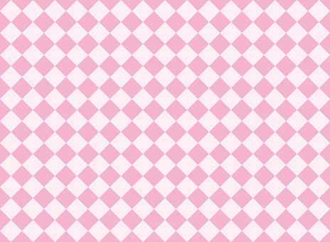 Checker diamond pink