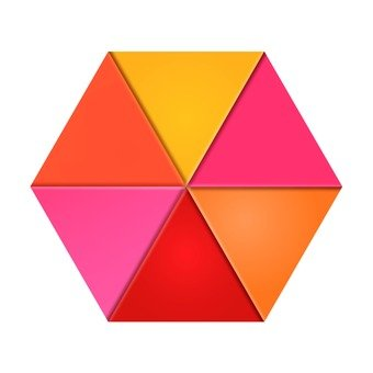 六邊形圖形1