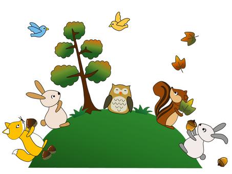Animals _ Forest friends _ 2