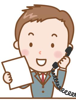 商人:電話