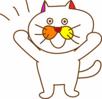 Supports a funny cat Tamako