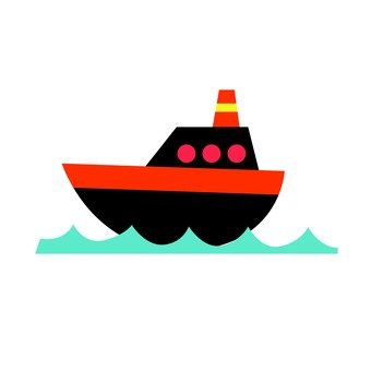 A black ship