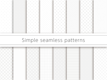 Simple pattern swatch
