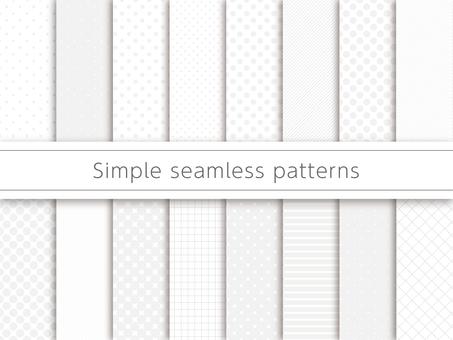 단순 패턴 견본